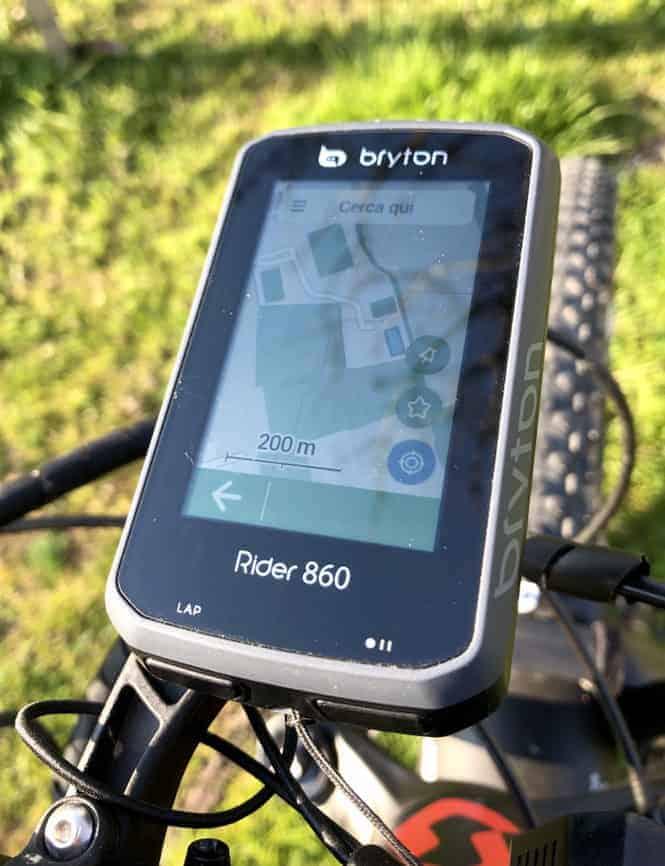 mappa rider 860